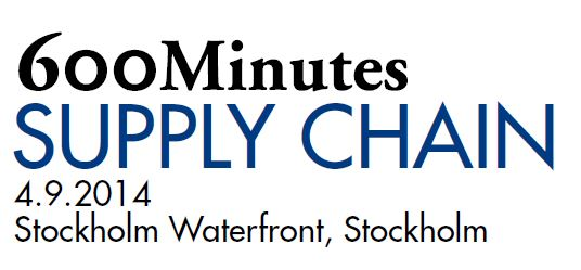 600 Minutes Supply Chain Sweden
