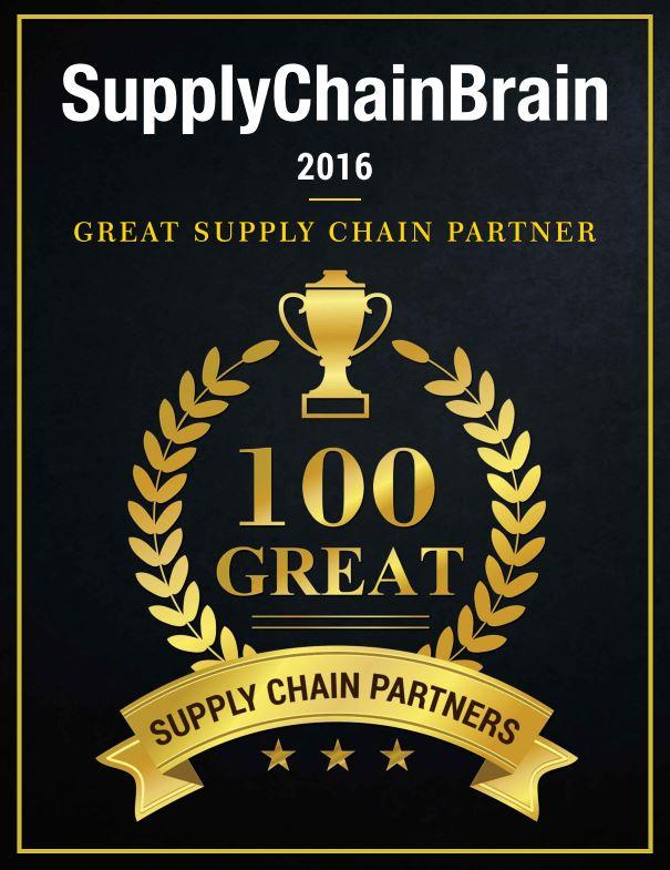 SCBrain 100 Great Supply Chain Partner Award