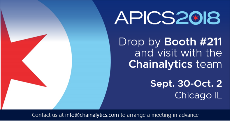 APICS 2018 Will Provide New Insights As Always - Chainalytics